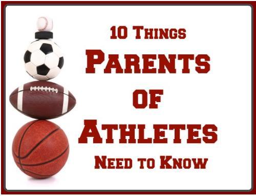 10 πράγματα που οι γονείς των μικρών αθλητών πρέπει να γνωρίζουν